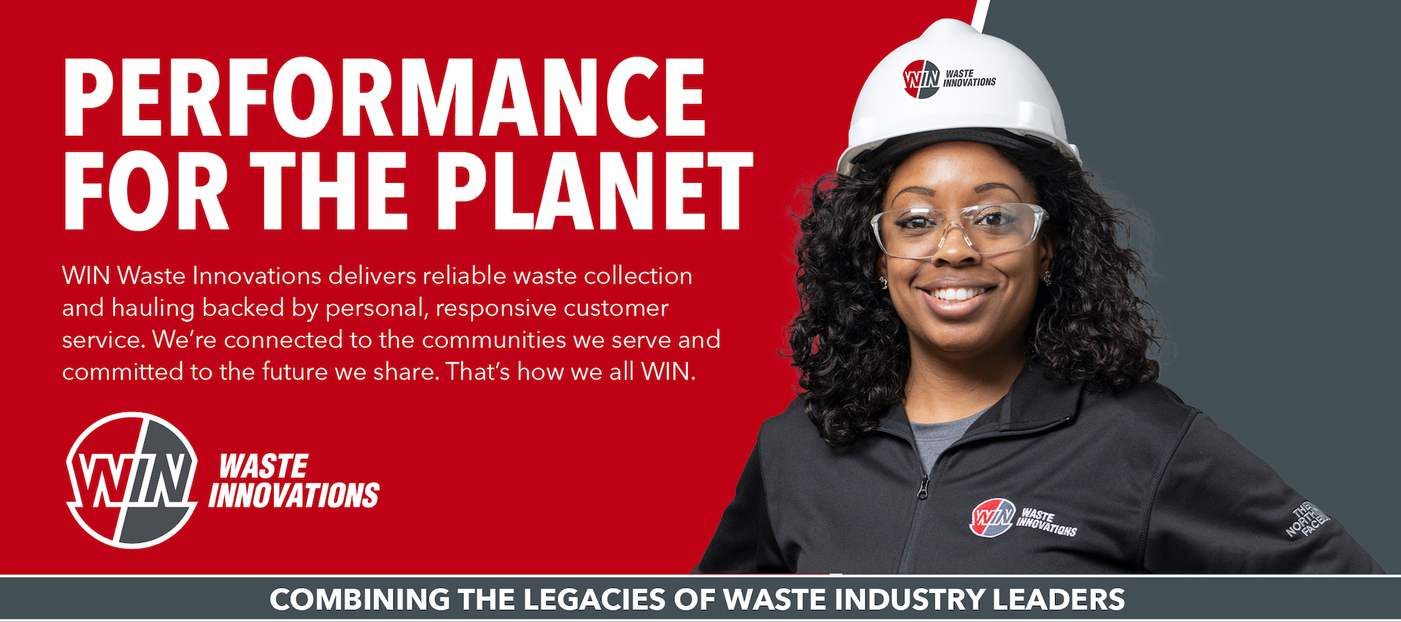 WIN Waste Innovations delivers reliable waste collection and hauling.